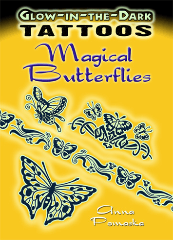 Tattoos: Glow-in-the-Dark Magical Butterflies