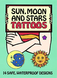 Tattoos: Sun, Moon, and Stars