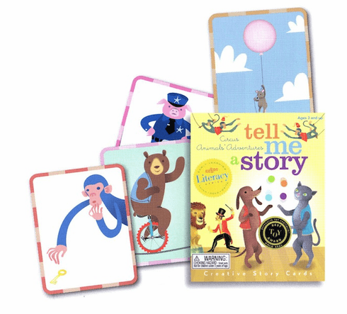 Tell Me a Story - Circus Animals
