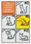 The Cutest Sneeze in the World: 30 Postcards