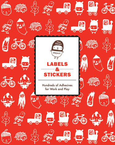 The Small Object: Labels and Stickers Set