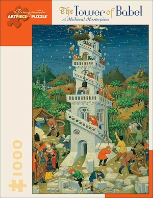 The Tower of Babel: A Medieval Masterpiece Jigsaw Puzzle