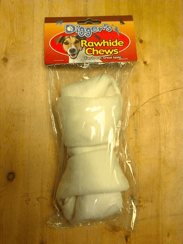Thick Rawhide Chew 7""