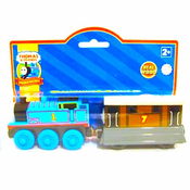 Thomas and Toby Wooden Railway Train Set