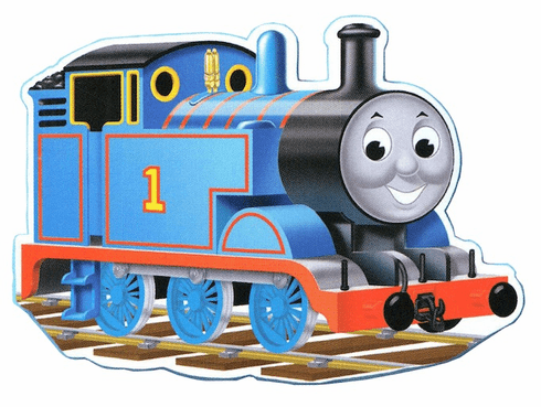 Thomas Shaped Floor Puzzle