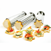 Tin Canape Bread Molds