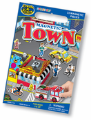 Town Magnetic Create-A-Scene Set