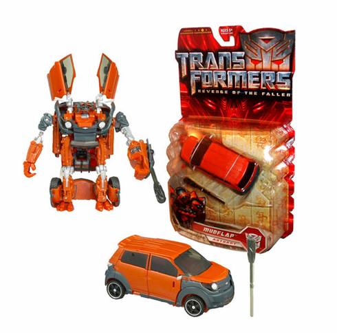 Transformers Revenge of the Fallen: Deluxe Mudflap Autobot