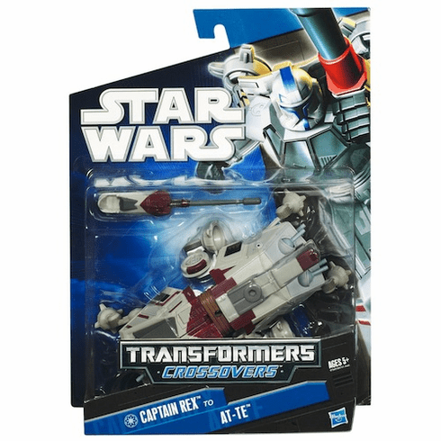 Transformers Star Wars Crossovers: Captain Rex to AT-TE