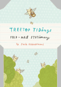 Treetop Tidings Fold & Mail Stationery