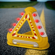 Triangle Flasher Emergency Safety Light
