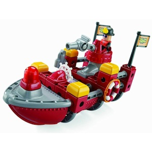Trio Fire Rescue Boat