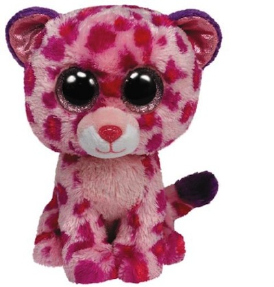 Ty Beanie Boos Glamour the Leopard  6""