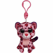 Ty Beanie Boos Glamour the Leopard Key Clip