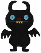 "UGLYDOLL - 12"" Ninja Batty Shogun"