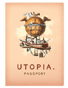 Utopia Passport - Notebook