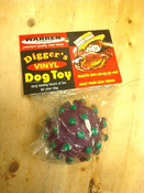 Vinyl Ball Dog Toy
