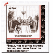 Wine Talking Beverage Napkins