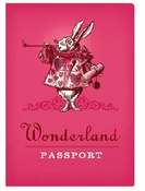 Wonderland Passport - Notebook