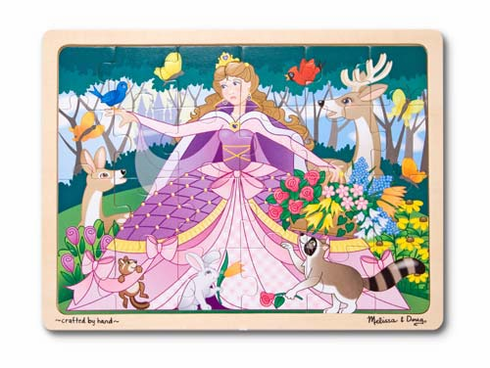 Woodland Princess Wooden Jigsaw Puzzle
