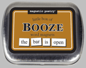 Word Magnets: Little Box of Booze
