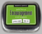 Word Magnets: Little Box of Encouragement