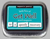 Word Magnets: Little Box of Get Well