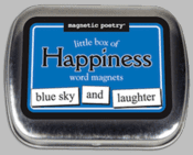 Word Magnets: Little Box of Happiness