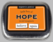 Word Magnets: Little Box of Hope