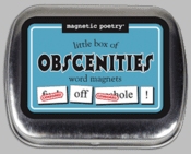Word Magnets: Little Box of Obscenities