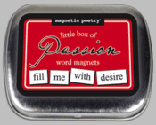 Word Magnets: Little Box of Passion