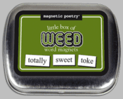 Word Magnets: Little Box of Weed