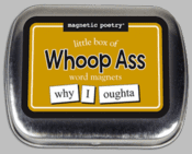Word Magnets: Little Box of Whoop Ass