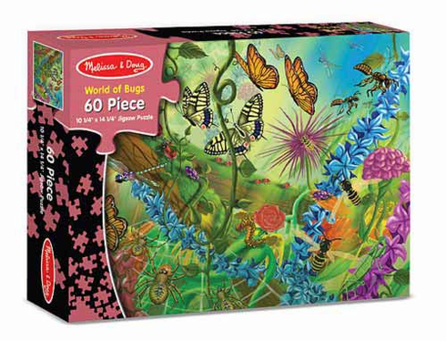 World of Bugs Puzzle 60pc