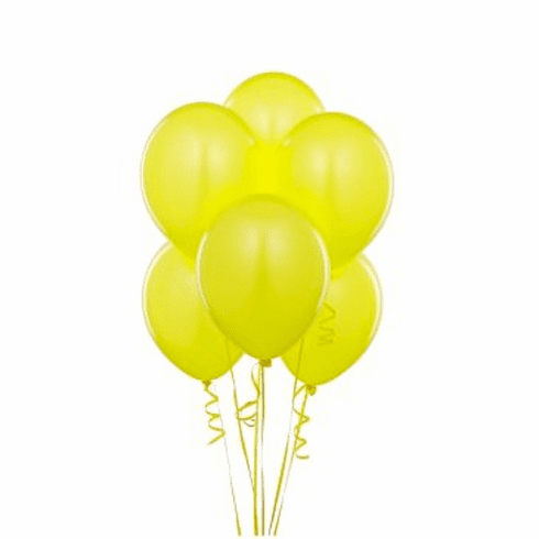 Yellow Balloons 15 ct.