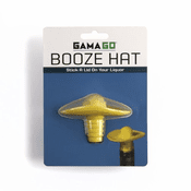 Yellow Booze Hat Sombrero