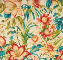 botanical-glow-tiger-lily: Indoor/Outdoor Fabric