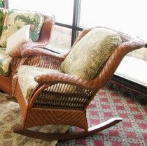 Casablanca Rattan Rocker Replacement Cushions