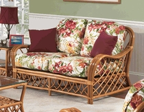 Deep Rattan Loveseat Replacement Cushions