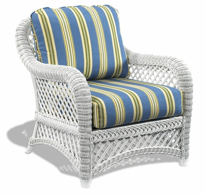 General Deep Seating Wicker Cushions: Chair Set
