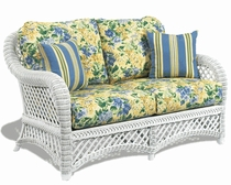 General Deep Seating Wicker Cushions: Loveseat Set