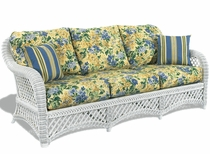 General Deep Seating Wicker Cushions: Sofa Set