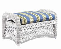 General Deep Seating Wicker Ottoman Cushion