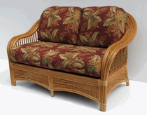 General Rattan Loveseat Replacement Cushions