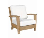 Generic Teak Lounge Chair Replacement Cushions