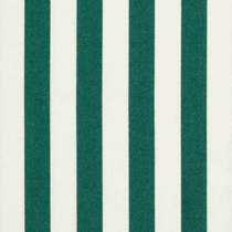 Green/White Stripe: Sunbrella Fabric