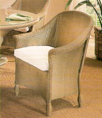 Lloyd Flanders Embassy Dining Chair Replacement Cushion