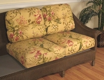 Lloyd Flanders Embassy Loveseat Replacement cushions