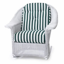 Lloyd Flanders Front Porch Rocker Replacement Cushions Set