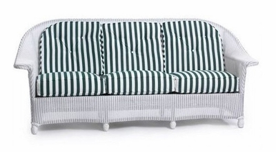 Lloyd Flanders Front Porch Sofa Replacement Cushions Set